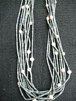 Photo of our Eight strand serpentine necklace