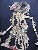Photo 1 of our Subali - Javanese shadow puppet