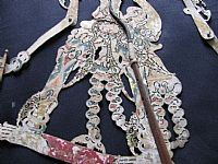 Photo 3 of our Subali - Javanese shadow puppet