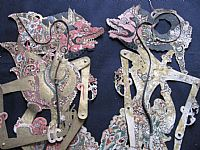Photo 7 of our Subali - Javanese shadow puppet