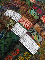 Photo of our Spectacular Batik Colours of the Forest sample set