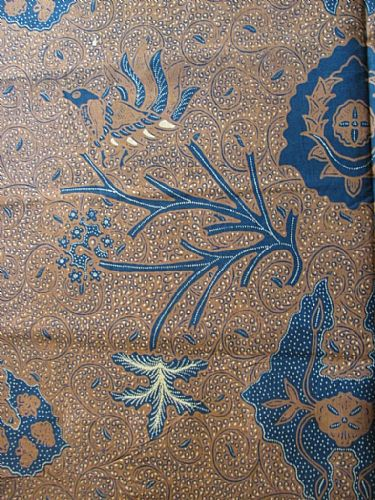 Photo of our Javanese Print - Traditional motifs