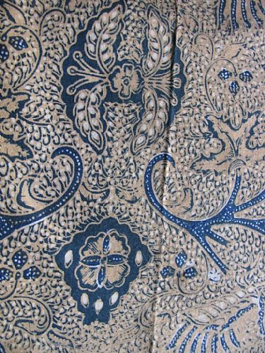 Photo of our Vintage Javanese Batik - Sacred Mountain Design