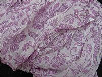 Photo 8 of our Crepe de Chine Crinkle Shawl in Pistachio or Lavender