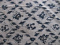 Photo 2 of our Vintage Javanese Batik - Indigo Design