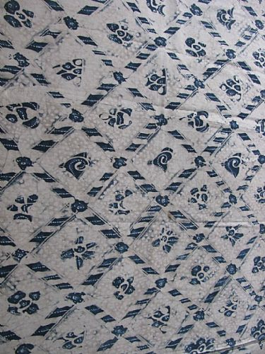 Photo of our Vintage Javanese Batik - Indigo Design