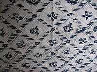 Photo 6 of our Vintage Javanese Batik - Indigo Design