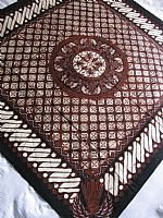 Traditional Javanese Batik - Small Tablecloth