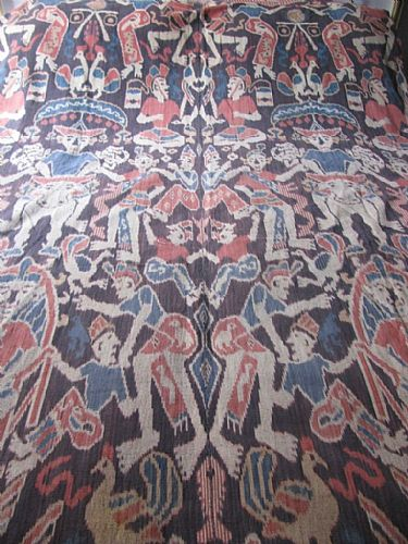 Photo of our Sumba Village Festival ikat cloth (XL)