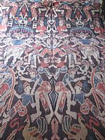 Photo 1 of our Sumba Village Festival ikat cloth (XL)