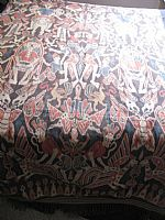 Photo 3 of our Sumba Village Festival ikat cloth (XL)