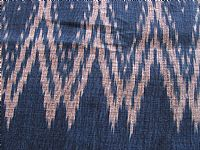 Photo 4 of our Deep indigo blue ikat